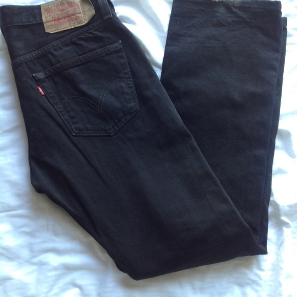 discount collection best authentic bright in luster Black 501 Levi's high waisted boyfriend Jeans